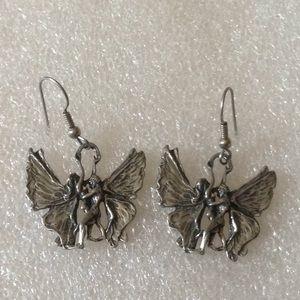 Vintage lover earrings